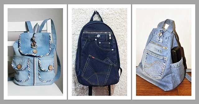 a3345b901c0e6 Eski kottan sırt çantası nasıl yapılır? Kottan Sırt Çantası Yapımı ...