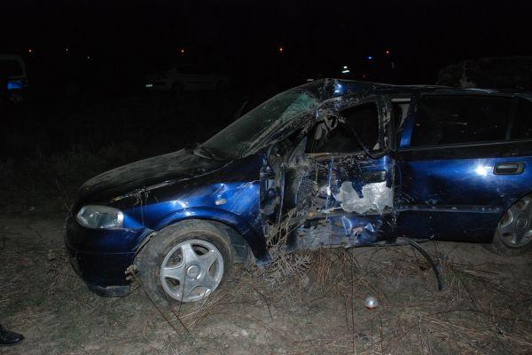 Tokat'ta trafik kazası, 2 ölü