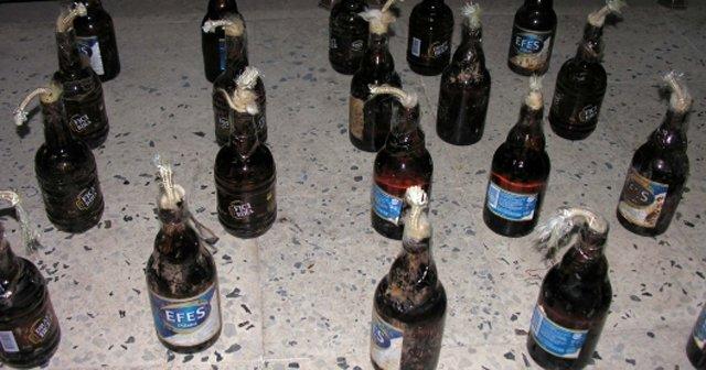 Diyarbakır'da 33 molotofkokteyli ele geçirildi