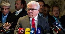 Almanya Dışişleri Bakanı Steinmeier, 'Bir yol ayrımındayız'