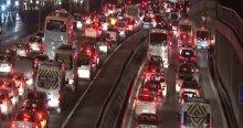 İstanbul'da trafik yoğunluğu yüzde 89'a çıktı