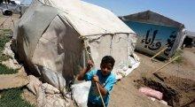 Mülteci kampına saldırı hazırlığında yakalandılar