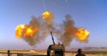 TSK, PYD mevzilerini vuruyor