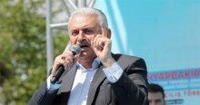 Başbakan olarak ilk kez İstanbul'a geldi