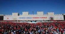 Erdoğan'ın gelişi sırasında açtılar
