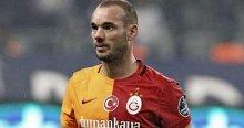 Galatasaray'da Sneijder sevinci