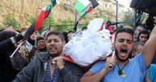 İsrail'in cesetlerini alıkoyduğu 2 Filistinli kardeş defnedildi