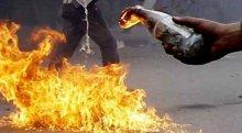 Sancaktepe'de iş yerine molotoflu saldırı