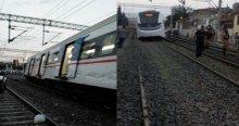 İzmir'de feci tren kazası