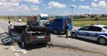Sivas'ta feci kaza! 2 ölü 3 yaralı