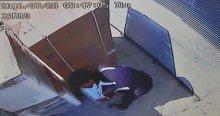 Hırsızlık yaptığı dükkanın önünden geçince yakalandı