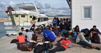 Çiller Ailesi'nin sattığı yatta 134 kaçak göçmen yakalandı