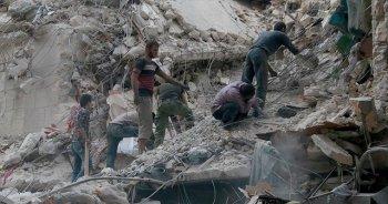 Halep'te 23 Eylül'den bu yana 96 çocuk hayatını kaybetti