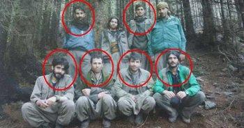 Ordu'da öldürülen teröristler fotoğraf da çekmiş