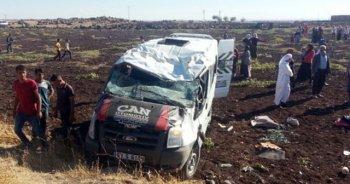 Şanlıurfa'da feci kaza! Yaralılar var