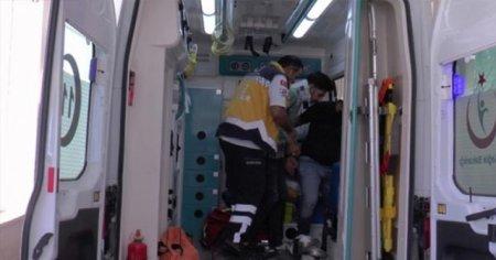 Birleşmiş Milletler ekibi Şanlıurfa'da kaza yaptı
