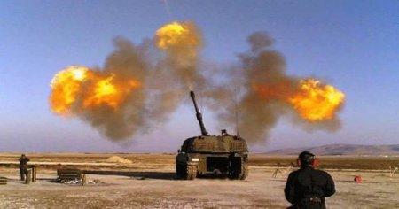 DAEŞ'e havadan, karadan bombardıman