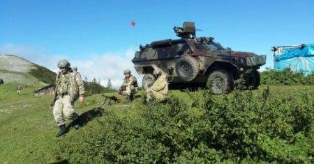 Gümüşhane'de PKK ile sıcak çatışma