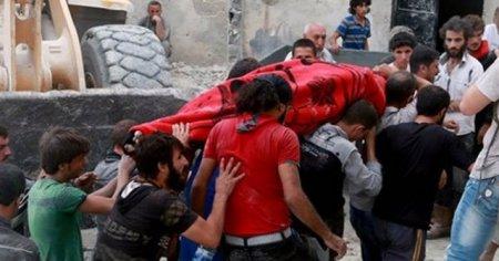 Halep'te son bir haftada bin kişi hayatını kaybetti