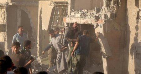 Şam'da yerleşim yerine yapılan saldırıda 7 çocuk öldü
