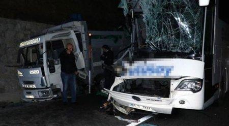 Samsun'da feci kaza, 1 ölü