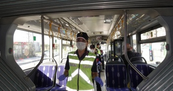 Jandarmadan İstanbul genelinde şehir içi toplu ulaşım araçlarına koronavirüs denetimi