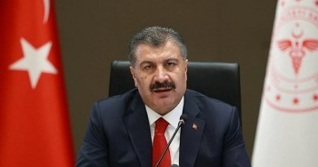 Sağlık Bakanı Koca: Halk sağlığı kadar ulusal çıkarları da koruyoruz