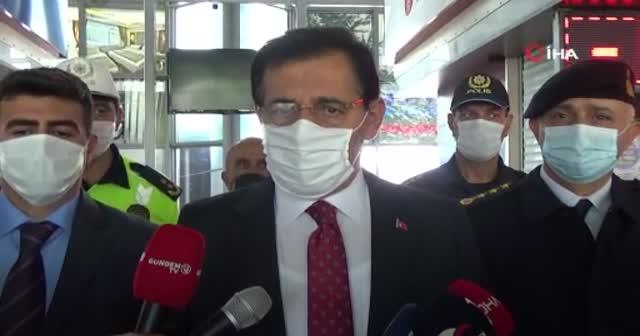 Bolu Valisi Ümit'ten hastane yatak sayısı uyarısı